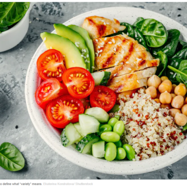 Food variety is important for our health – but the definition of a 'balanced diet' is often murky
